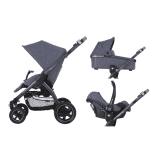 MAXI-COSI Wózek wielofunkcyjny 3w1 Stella Urban + Cabriofix – Sparkling Blue 2019