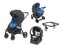 CHICCO Kočík trojkombinácia Urban Plus Crossover Power Blue + Auto-Fix Fast