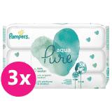 PAMPERS Aqua Pure chusteczki nawilżane 3 x 48 szt.