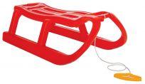 JAKU Sáňky plastové - Snow MONSTER 82 cm, červená