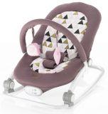 ZOPA Detské lehátko Relax – Pink triangles