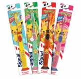 SIGNAL Junior zubná kefka Pokémon 1 ks – červená