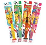 SIGNAL Junior zubní kartáček Pokémon 1 ks – růžový