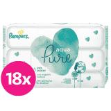 PAMPERS Aqua Pure vlhčené ubrousky 18 x 48 ks