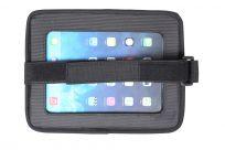 BABYDAN Držák tabletu a baby zrcadlo do auta, Lux Grey