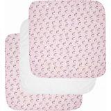 LUMA Mušelínová plienka 70x70 cm set 3 ks - Racoon Pink