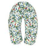 BABYMATEX Polštář na kojení Relax Tucan zelený 190 cm