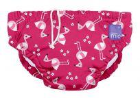 BAMBINO MIO Plavky dojčenské Pink Flamingo veľ. XL (12-15 kg)