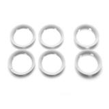 BUGABOO Krytky koleček na Bee5 White Core 6 ks,