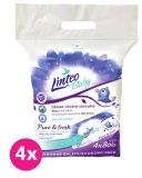 4x LINTEO Baby vlhčené ubrousky Pure & Fresh pack 4x80ks (320 ks)