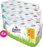 4x LINTEO Papier toaletowy 2-warstwowy (16 szt.) 15 m – biały
