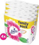 4x LINTEO Toaletní papír 2-vrstvý (24 ks) 19 m – bílý