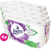 4x LINTEO Papier toaletowy 3-warstwowy (16 szt.) 20 m – biały