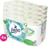 4x LINTEO Toaletní papír 3-vrstvý (16 ks) 20 m – zelený