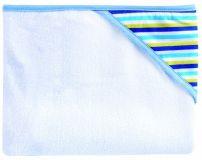 CANPOL BABIES Osuška s kapucí – modro-žlutá