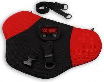 SCAMP Bezpečnostní pás pro těhotné Comfort Isofix – červený