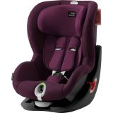 BRITAX RÖMER Autosedačka King II LS (9-18 kg) - Black/Burgundy Red