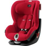 BRITAX RÖMER Autosedačka King II LS (9-18 kg) - Black/Fire Red