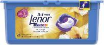 LENOR Gold Orchid 3v1 28 ks – kapsle na praní