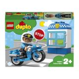 LEGO® DUPLO® Town 10900 Policajná motorka