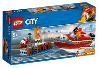 LEGO® City Fire 60213 Požár v přístavu