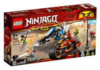 LEGO® Ninjago 70667 Kaiova motorka s čepelemi a Zaneův sněžný vůz