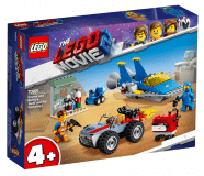 "LEGO® Movie 70821 Emmetova a Bennyho dílna ""Postav a oprav to""!"