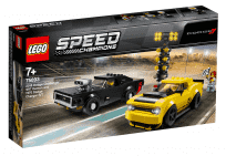 LEGO® Speed Champions 75893 2018 Dodge Challenger SRT Demon a 1970 Dodge Charger R/T