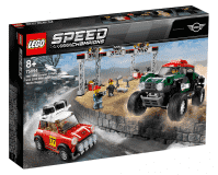 LEGO® Speed Champions 75894 1967 Mini Cooper S Rally oraz 2018 MINI John Cooper Works Buggy