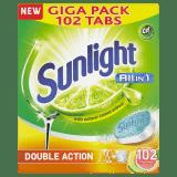 SUNLIGHT All in One Lemon 102 ks – tablety do umývačky riadu