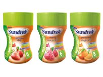 SUNÁREK Detský rozpustný nápoj ochutnávkové balenie (3x200 g)