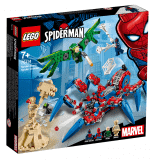 LEGO® Super Heroes 76114 Spider-Man a jeho Pavúkolez