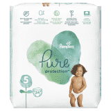 PAMPERS Pure Protection S5, 24 ks (11-16 kg) – jednorazové plienky