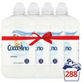 4x COCCOLINO Sensitive 1.8 l (72 prań) – płyn do płukania