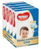 HUGGIES® Ultra Comfort Jumbo 5 (16-25 kg) Zapas na miesiąc (168 szt.) – pieluchy jednorazowe