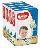 HUGGIES® Ultra Comfort Jumbo 5 (12-22 kg) Mesačná zásoba (168 ks) – jednorazové plienky
