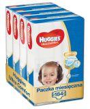 HUGGIES® Ultra Comfort Jumbo 4+ (10-16 kg) Zapas na miesiąc (184 szt.) – pieluchy jednorazowe