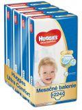 HUGGIES® Ultra Comfort Jumbo 3 (5-8 kg) Mesačná zásoba (224 ks) – jednorazové plienky