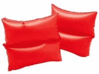 INTEX Rukávniky neónové dve komory 19x19 cm (3-6 rokov)
