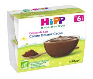 HiPP BIO Mléčný dezert kakaový 4x100 g