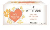 ATTITUDE Přírodní čistící osvěžovač vzduchu Baby leaves  s vůní hruškové šťávy 227 g