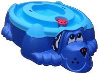 MARIAN Pískoviště bazének Pejsek s krytem – modré/modré