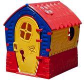 MARIAN Domeček Fairy House Benaton – žlutý/červený/modrý
