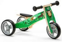 NICKO Dřevěné odrážedlo 2v1 mini – Opička