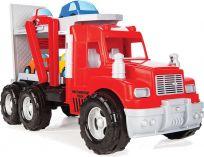 PILSAN Mak Truck transportný – 4 autíčka 56 cm