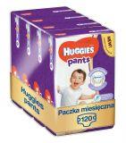 HUGGIES® Pants Jumbo 6 (15-25 kg), ZAPAS NA MIESIĄC 120 szt. - pieluchomajtki