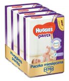 HUGGIES® Pants Jumbo 3 (6-11 kg), ZAPAS NA MIESIĄC 176 szt. - pieluchomajtki