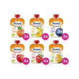 SUNAR Ochutnávkový XXL balíček ovocných kapsiček (20x100 g)