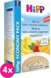 4x HIPP Kaše s ovocem a jogurtem (500 g) - mléčno-obilná kaše
