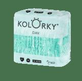 KOLORKY  DAY - balóny - XL (12-16 kg) - 136 ks MĚSÍČNÍ ZÁSOBA - jednorázové eko plenky